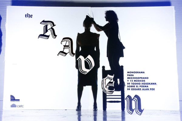 Teaser flyer during the shooting of the video with Adriana Mastrángelo and Mariana Seropián