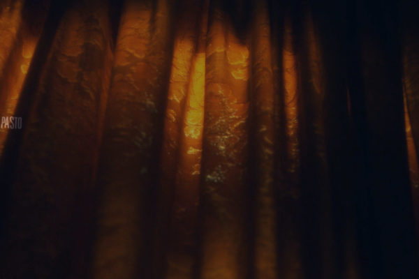 Still from open credits design and animation tracked on live take